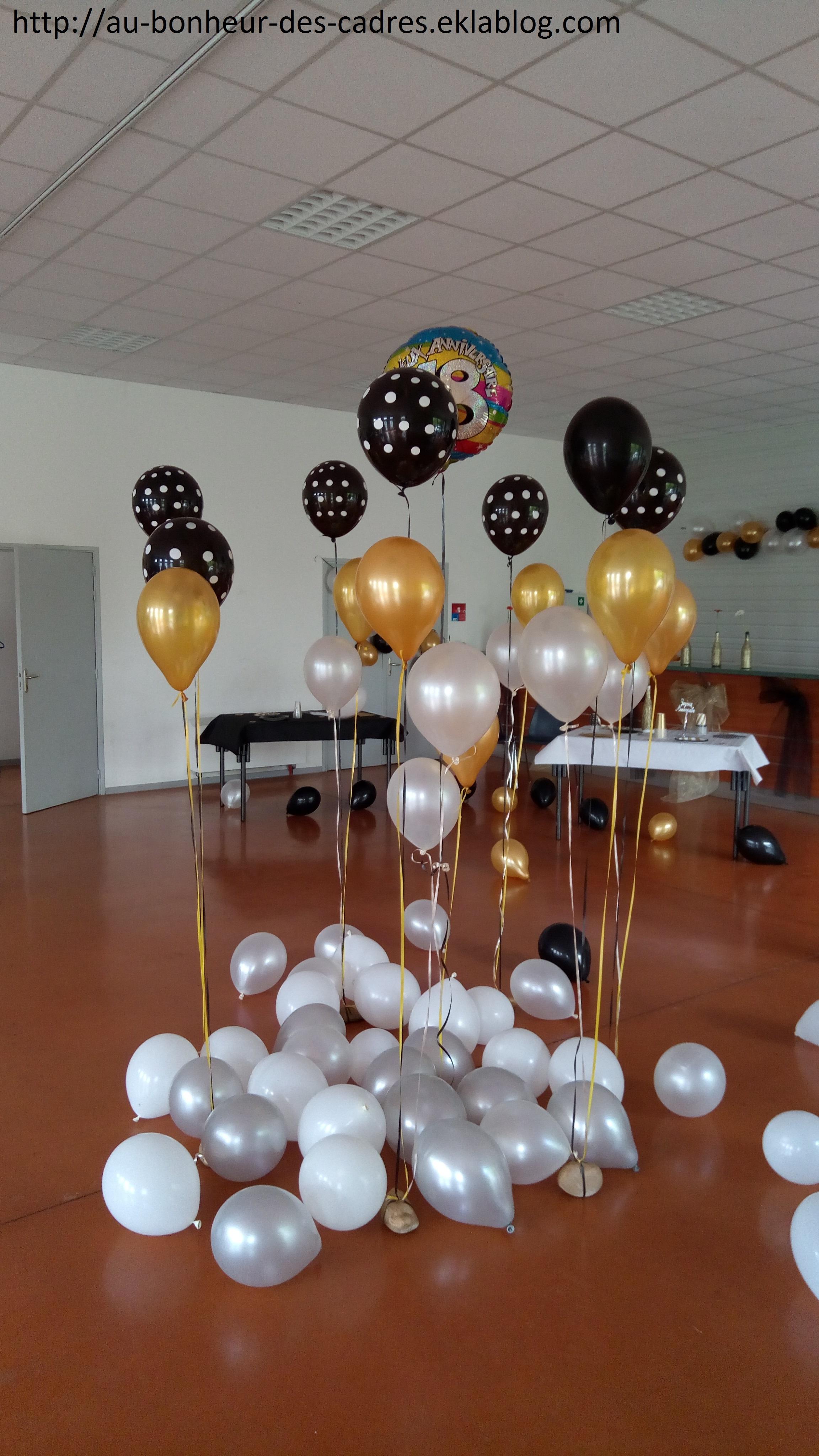 Decoration anniversaire 18 ans