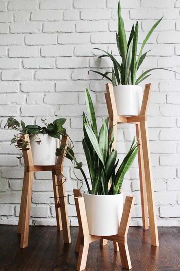 Porte plante ikea