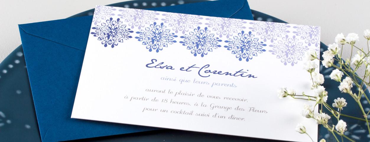 Les invitations de mariage