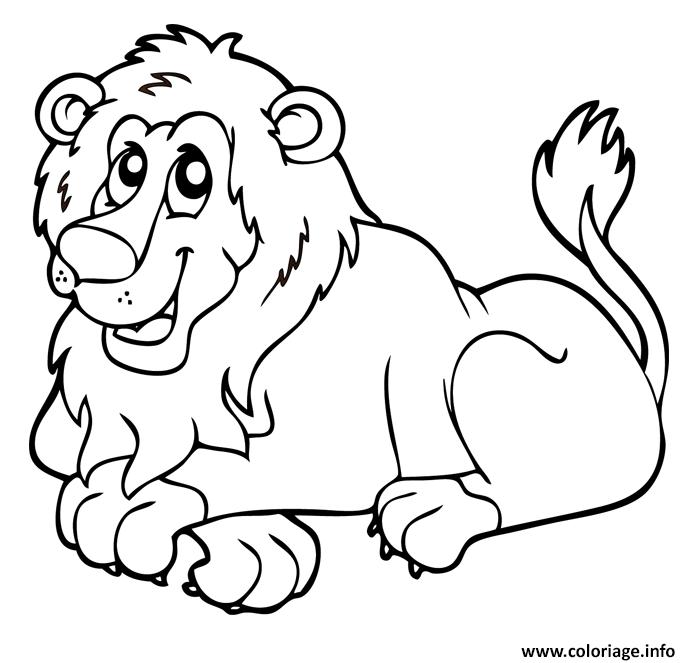 Animaux jungle dessin