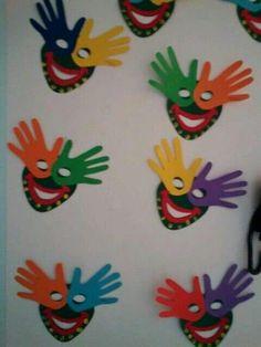 Bricolage carnaval maternelle