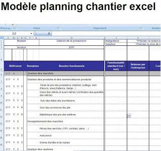 Planning travail excel gratuit
