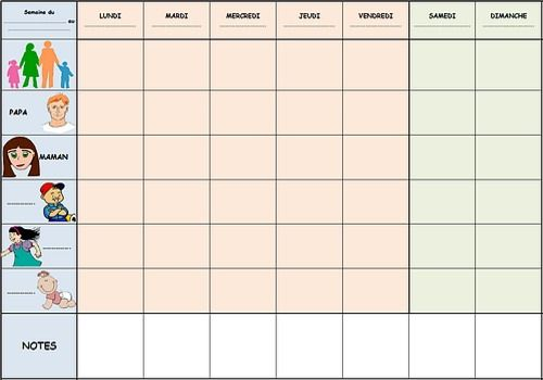 Calendrier retroplanning