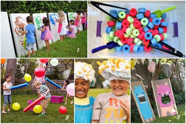Activité creative pour anniversaire