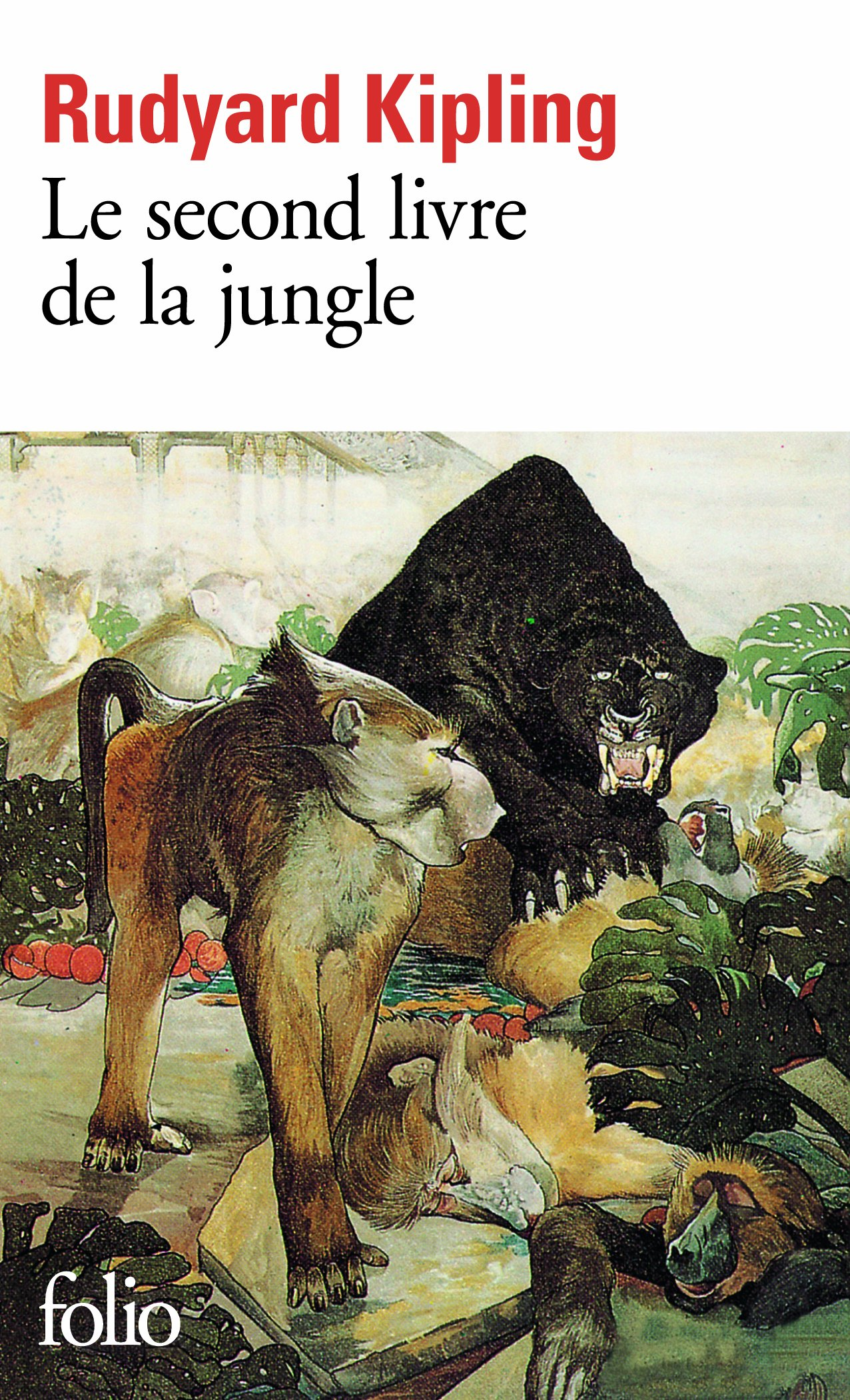 Livre le livre de la jungle