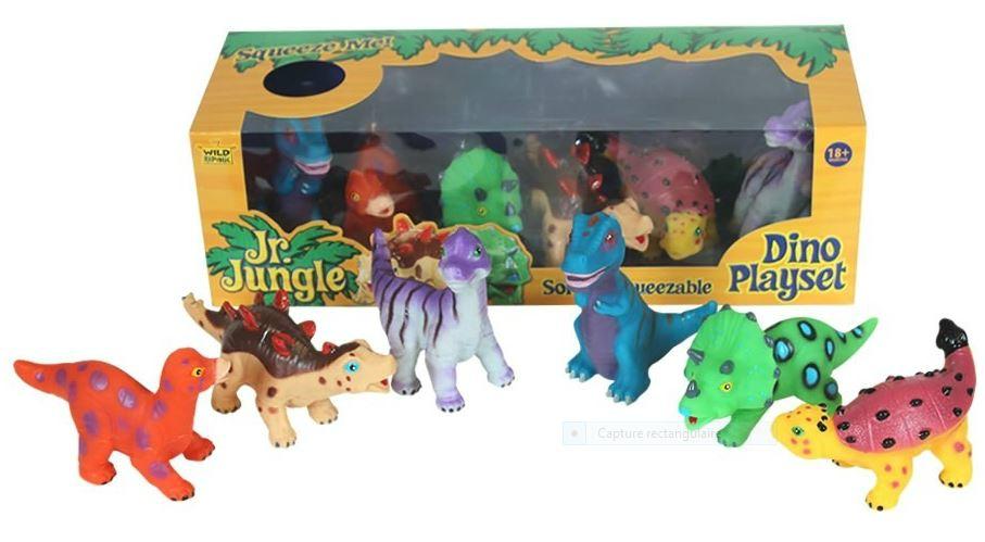 Les jouets dinosaures