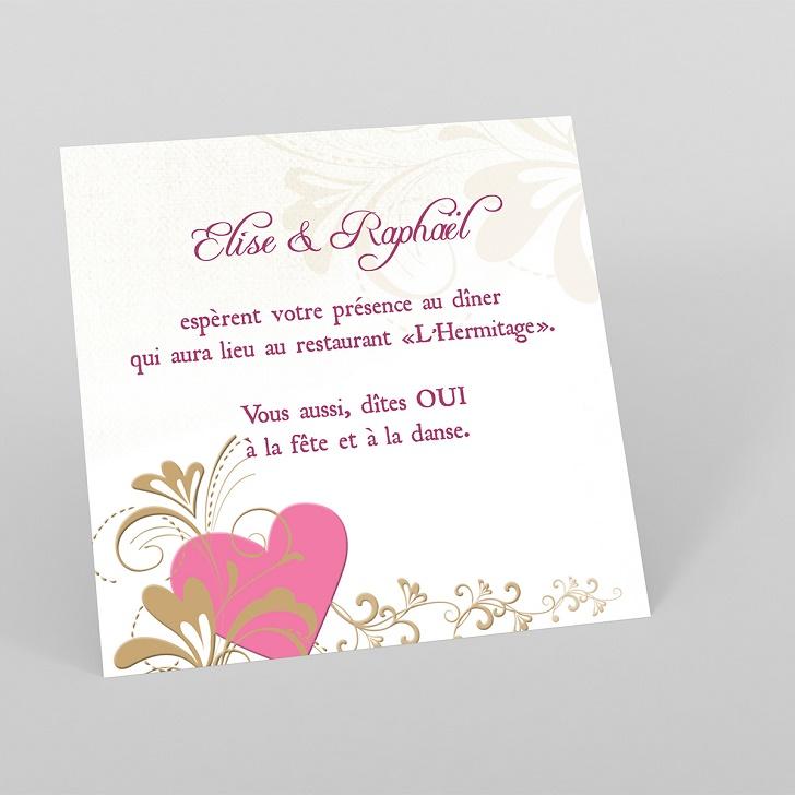 Invitation de mariage gratuit