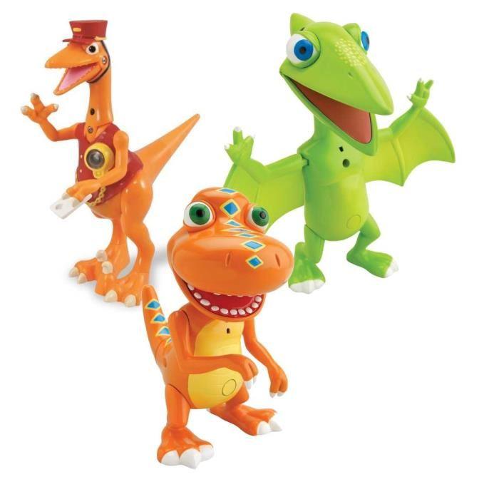 Jouet dinosaure dino train