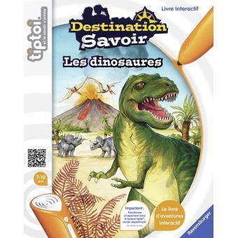 Jeux scientifique dinosaure