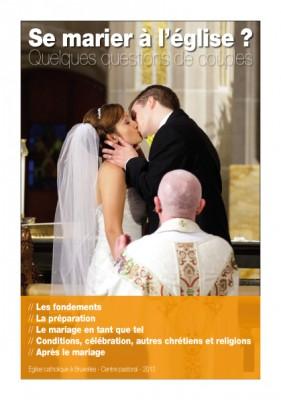 Preparation mariage eglise