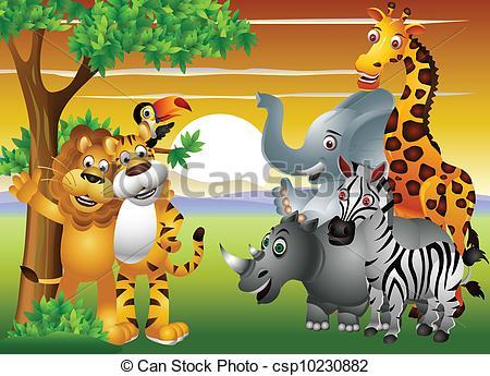 Image jungle animaux