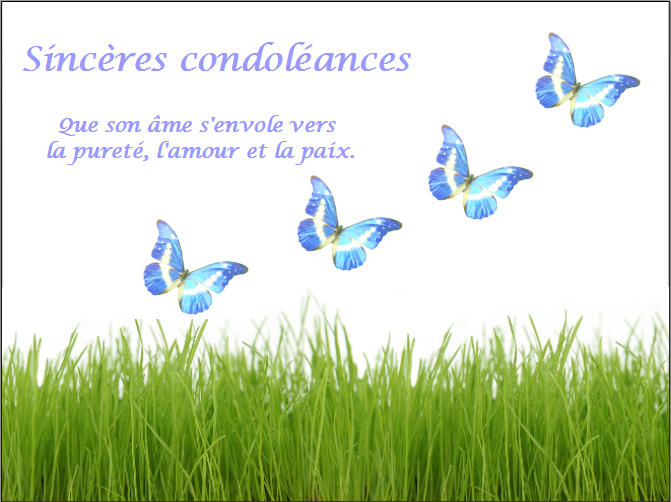 Texte gratuit condoléances