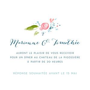 Invitation au mariage