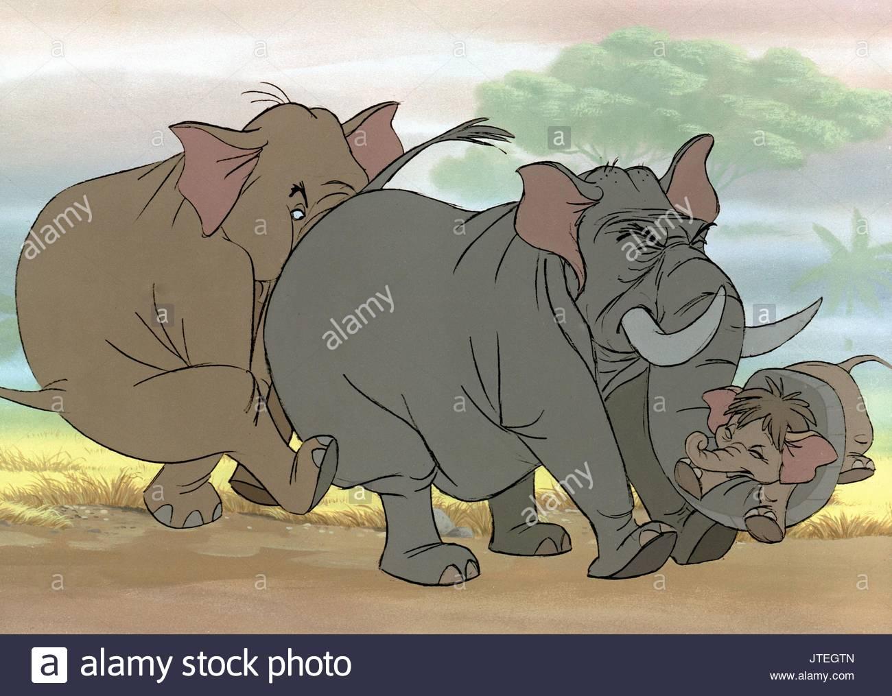 Elephant le livre de la jungle