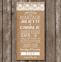 Site invitation mariage