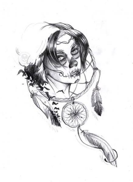 Tatouage dessin homme