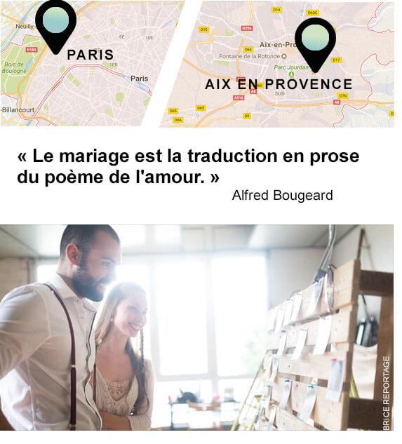 Formation organisation de mariage