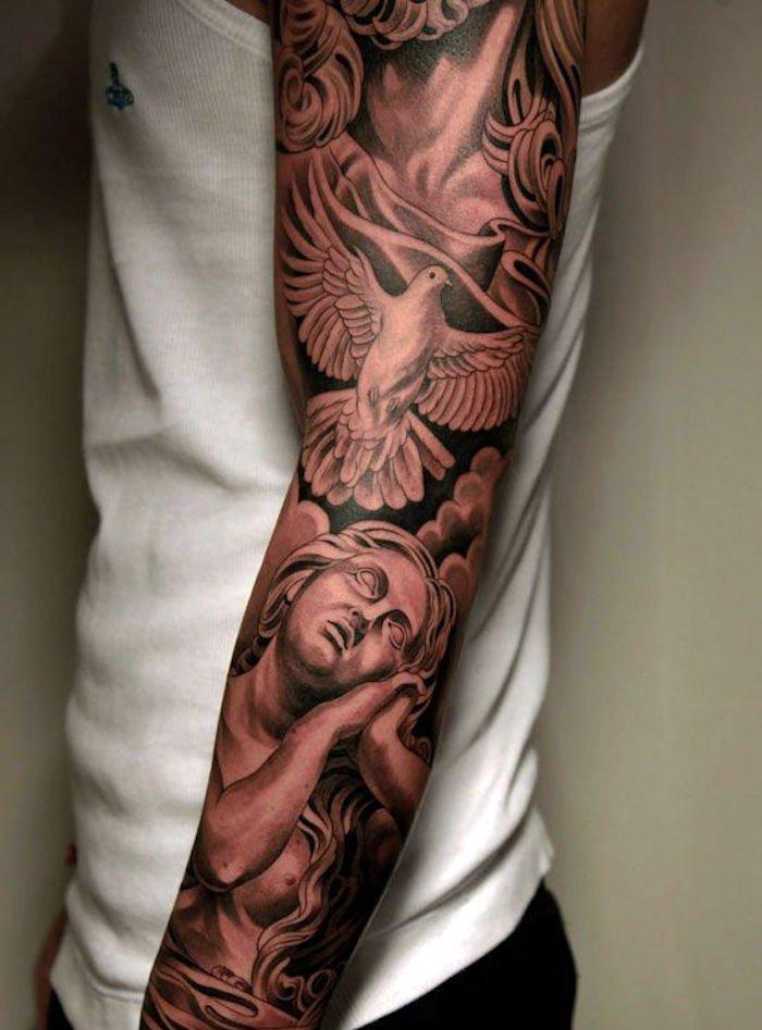 Modele tatouage homme bras