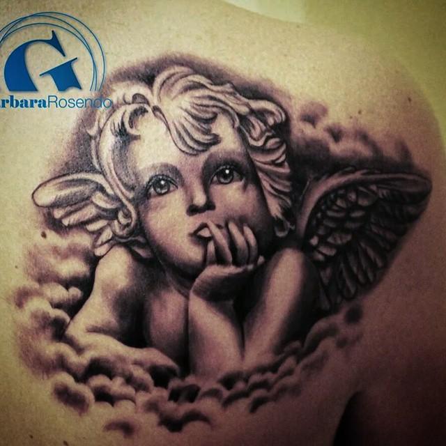 Image tatouage ange