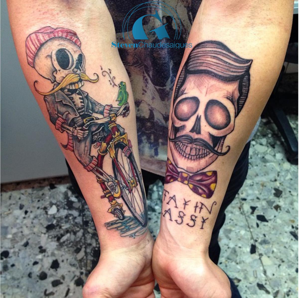 Idee de tatouage pour homme bras - young planneur