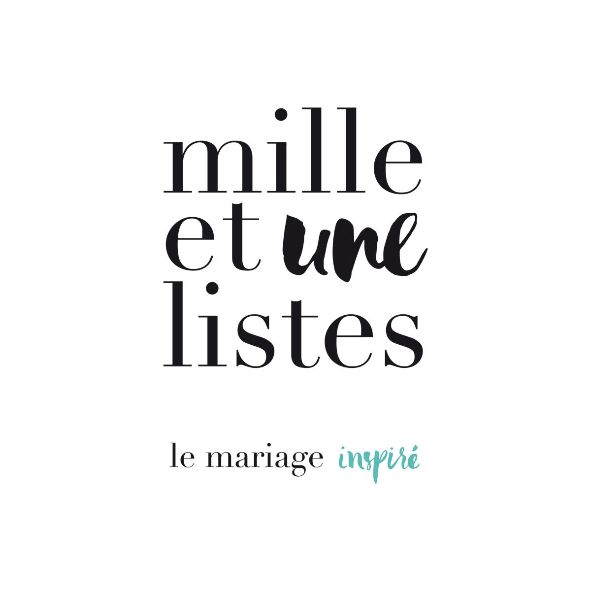 1001 liste mariage