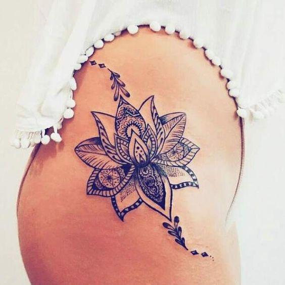 Image tatouage fleur