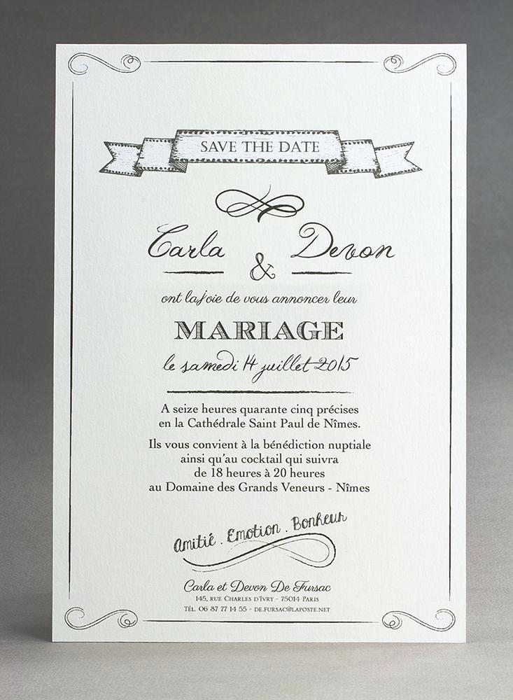 Texte Invitation Mariage Moderne Young Planneur
