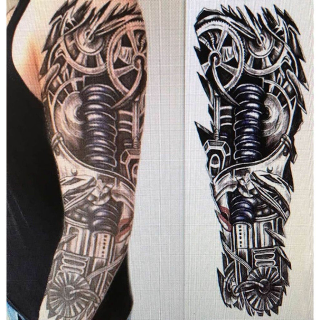 Idee Tatouage Homme Bras Complet Young Planneur