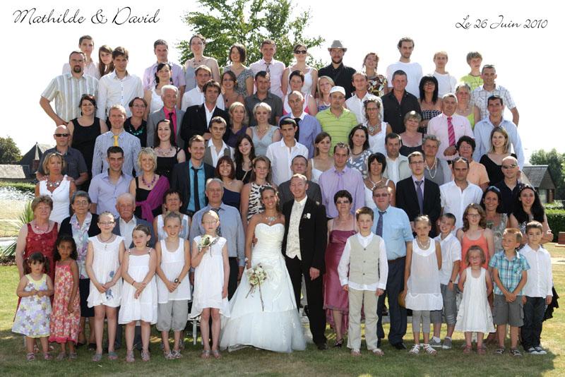 Liste photo de groupe mariage