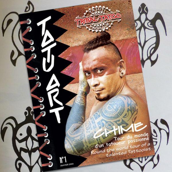 Livre sur les tatouages polynésiens