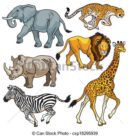 Animaux de la savane africaine liste