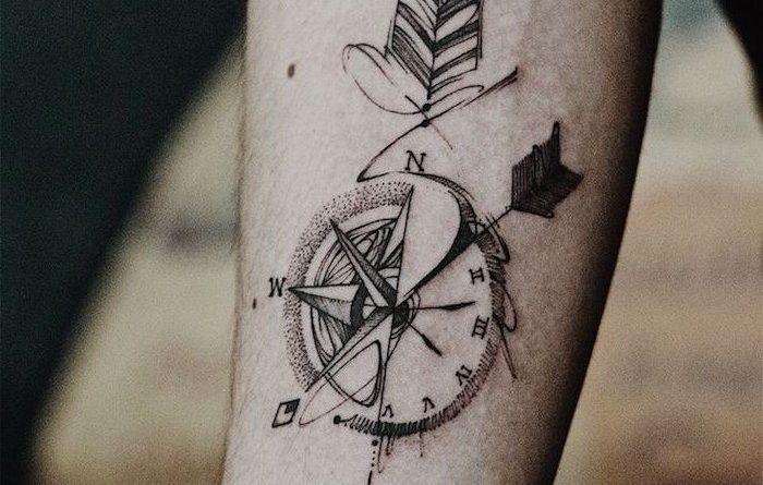 Modele petit tatouage homme - young planneur