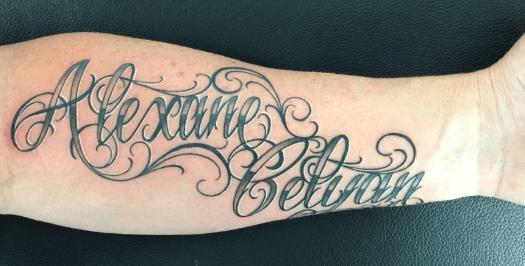 Simulation tatouage prénom
