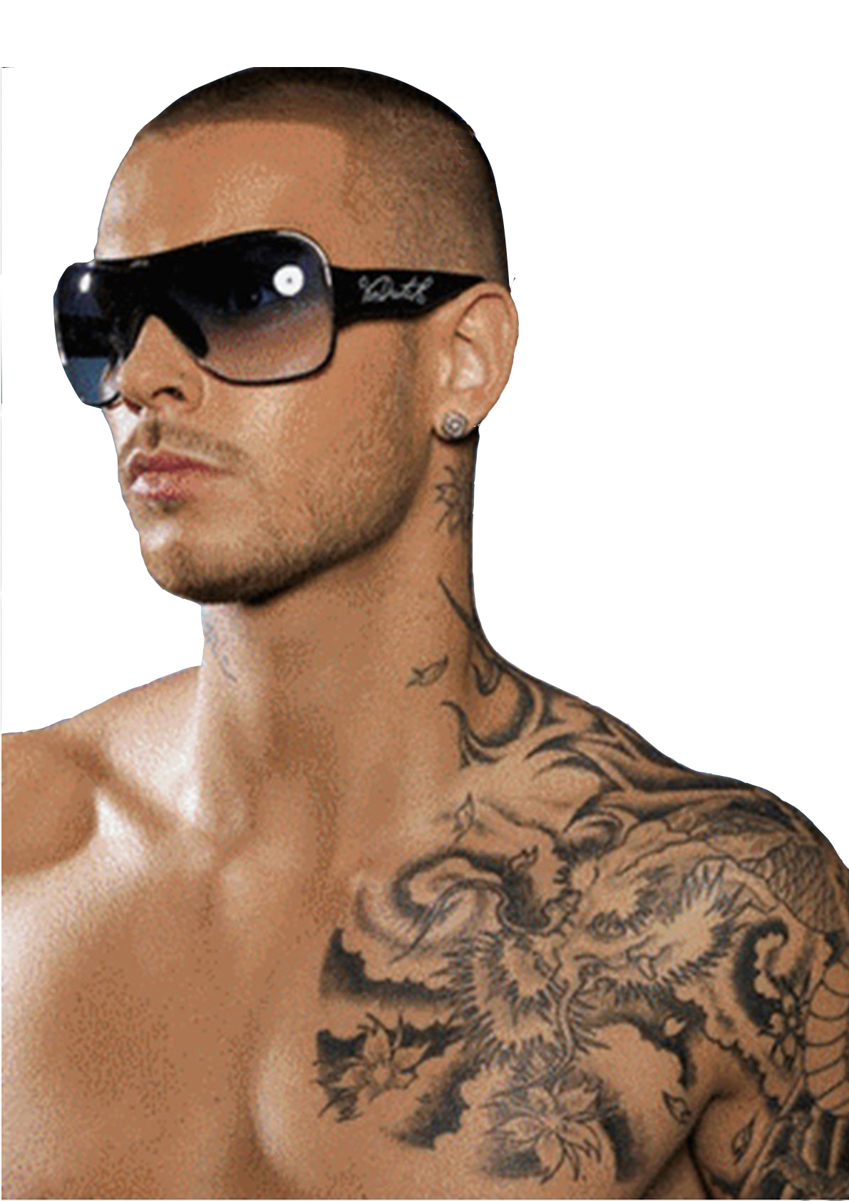 Idée tatouage homme torse